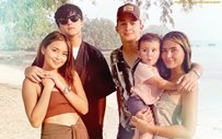 Kathryn, Sofia pose with their 'Daniels' in sweet couple pic!