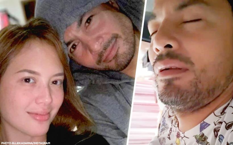 WATCH: Ellen Adarna gets revenge on Derek Ramsay by sharing his snoring video