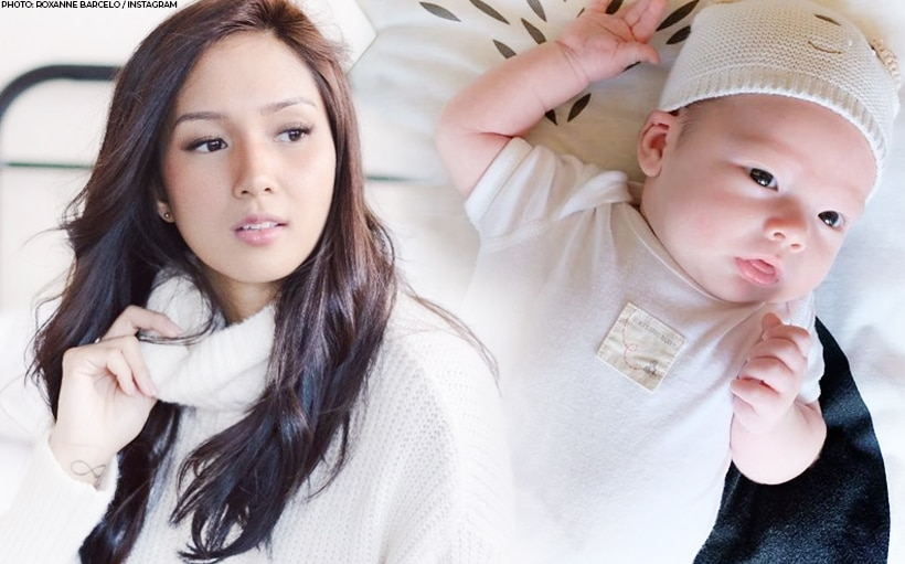 LOOK: Roxanne Barcelo's son turns 1 month!