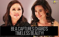 Bea captures Charo's timeless beauty!