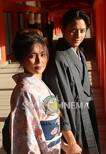 More exclusive KathNiel photos from Hiroshima! 11