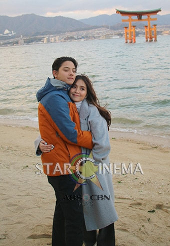 More exclusive KathNiel photos from Hiroshima! 16