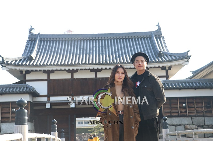 More exclusive KathNiel photos from Hiroshima! 46
