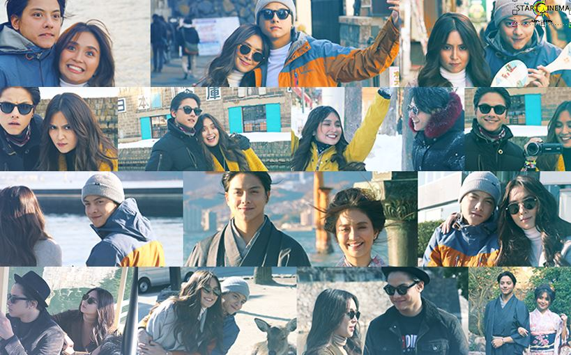 KathNiel in Japan: Would they shoot a movie there?