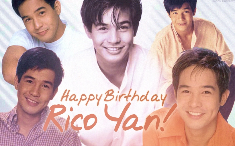 Remembering Rico Yan's most iconic roles