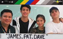 Shooting begins for 'James and Pat and Dave'!