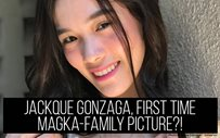 Jackque Gonzaga, first time magka-family picture?!