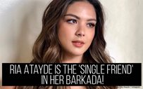Ria Atayde is the 'single friend' in her barkada!