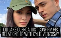 Did Jake Cuenca just confirm his relationship with Kylie Verzosa?
