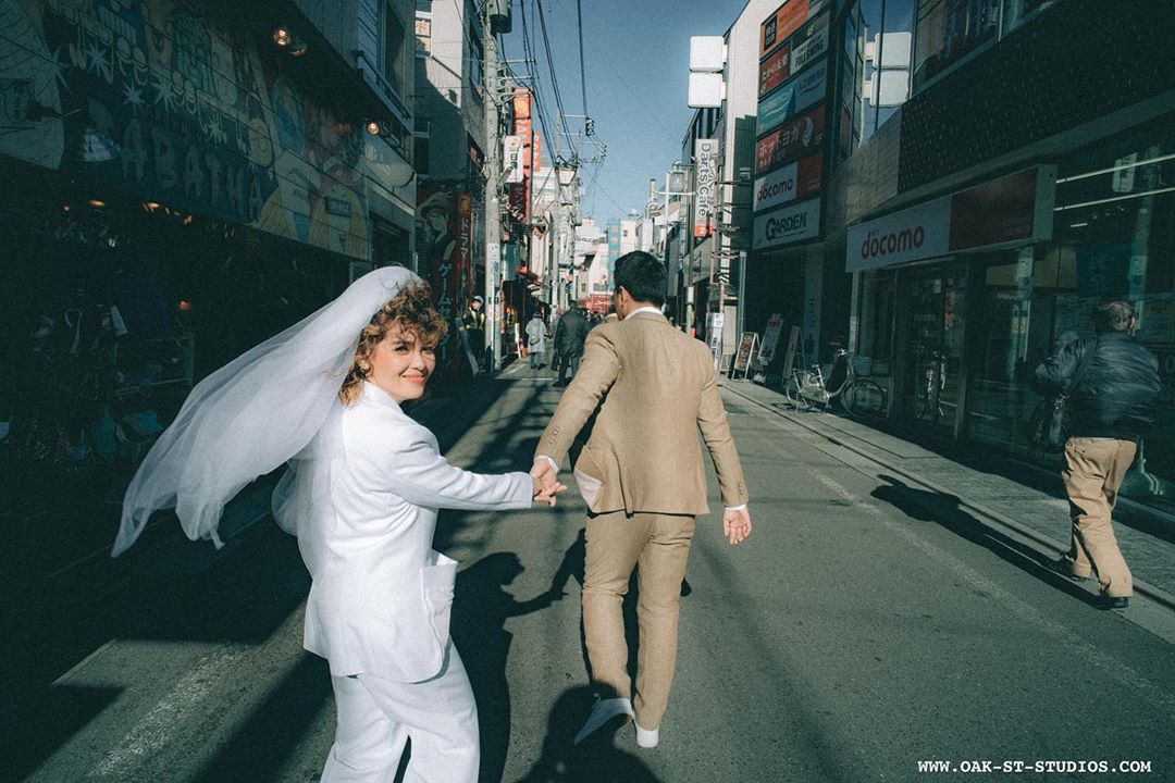 KZ and TJ go to Japan for their prenup shoot