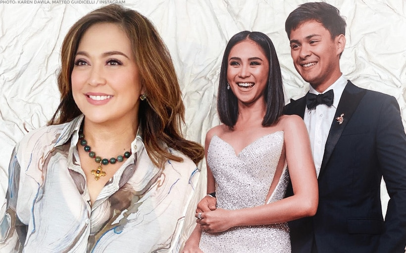 Karen Davila meet new neighbors, Sarah and Matteo Guidicelli!