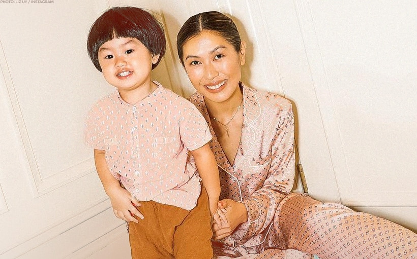 Liz Uy introduces son Xavier to the public for the first time