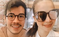 Anne and Erwan take Baby Dahlia out on a lunch date!