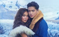 Kathryn shares a never-before-seen photo with Daniel in Iceland!