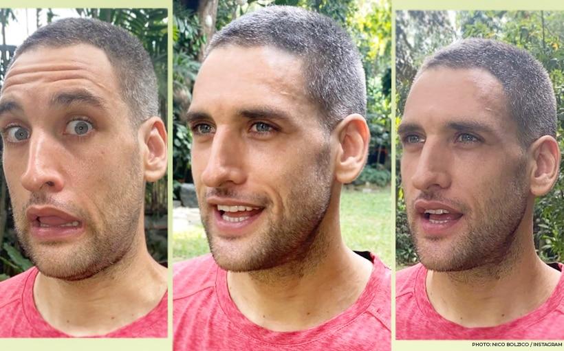Nico Bolzico reveals the real reason he cut his hair