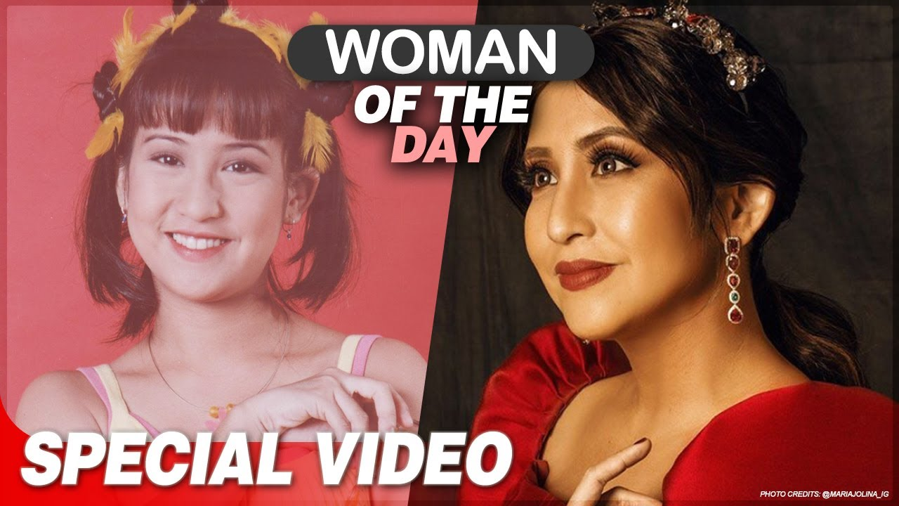 Woman of the Day: The '90s icon Jolina Magdangal