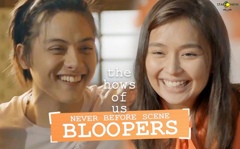 Kathryn and Daniel in hilarious, never-before-seen 'The Hows of Us' bloopers!