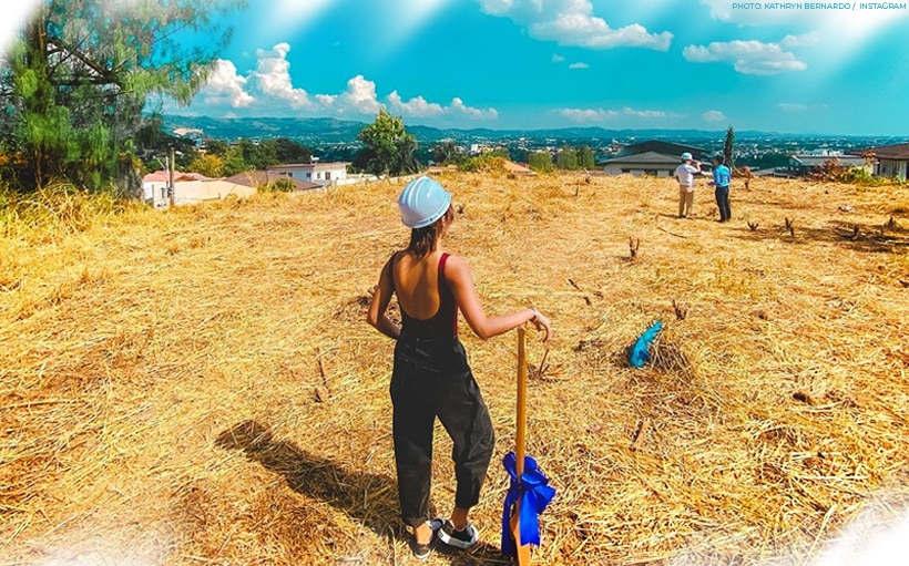 Here's what went down during the groundbreaking of Kathryn's home!
