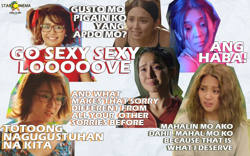 Kathryn Bernardo and her most memorable one-liners