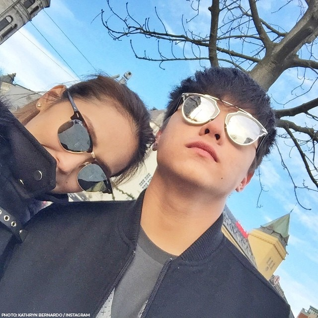 Kathryn and Daniel's vacation through the years