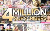Star Cinema reaches 4 million subscribers on Youtube!