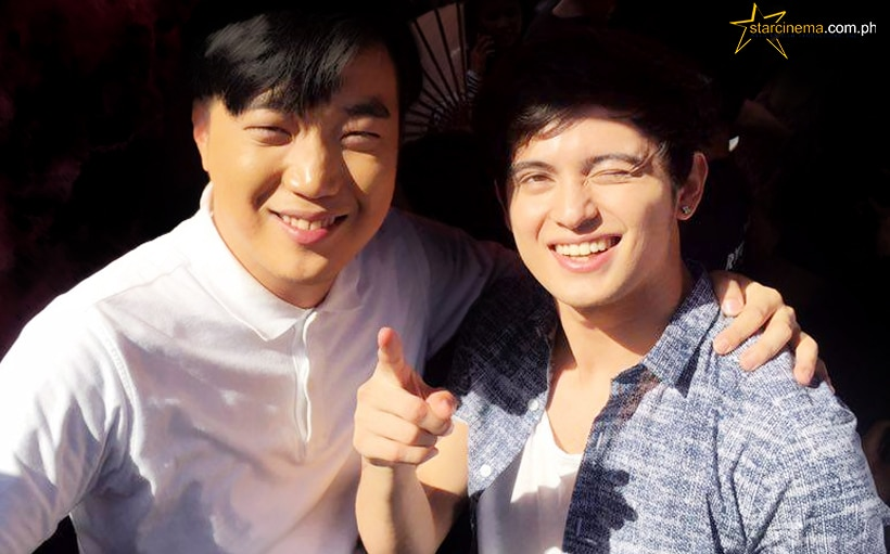 James Reid gets a makeover from Ryan Bang