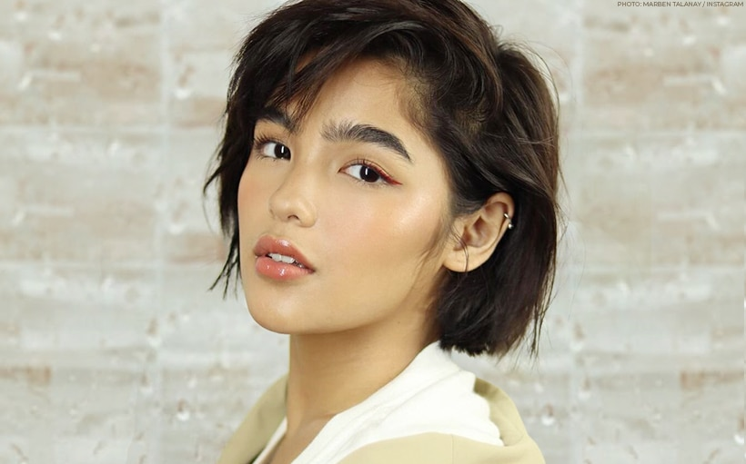 Andrea Brillantes' 'fresh out of the shower' look is FIRE!