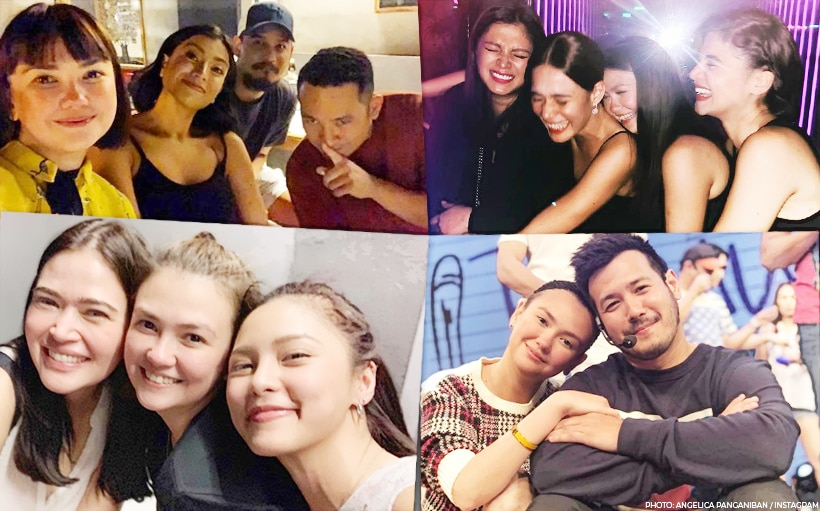 Angelica Panganiban and her amazing circle of friends in showbiz