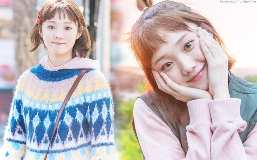 LOOK: Lee Sung Kyung dressed up as her iconic Kim Bok Joo character during her fan meet!