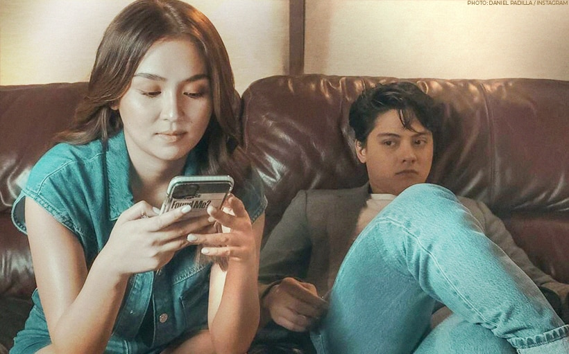Daniel Padilla's selfie game is stronger than ever!