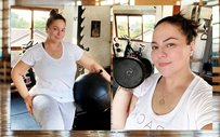 LOOK: Karla Estrada shares side-by-side photos after a year of working out