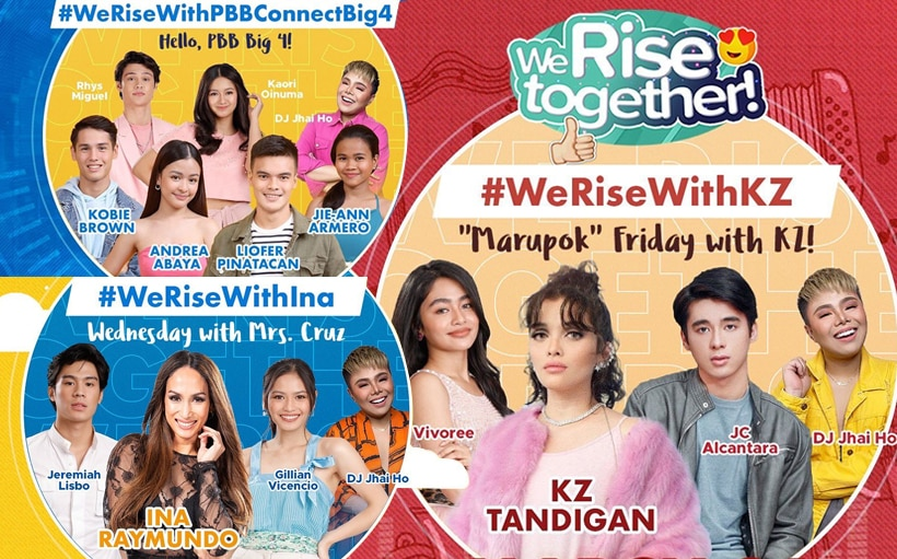 This Week on 'We Rise Together': KZ Tandingan, Ina Raymundo + 'PBB Connect' Big 4!