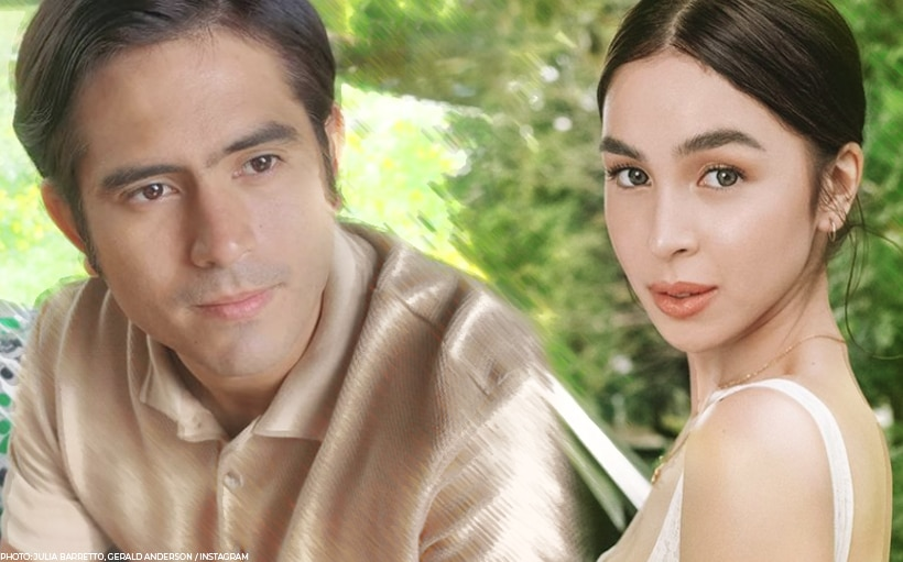 LOOK: Gerald Anderson leaves heart emojis on Julia Barretto's posts
