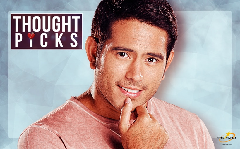 Thought Picks: Why it's okay to be a workaholic, according to Gerald Anderson