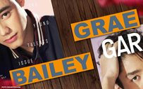 Grae, Bailey on the cover of Garage Magazine