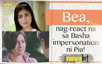 Bea, nag-react na sa Basha impersonation ni Pia!