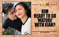 Kim ready to go 'mature' with Xian?