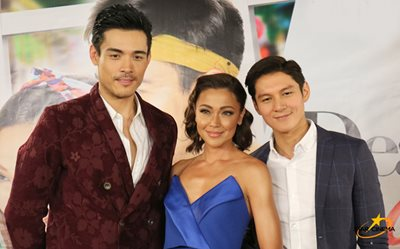 Xian, Joseph, and Jodi flaunt their best 'selves' at the 'Dear Other Self' preem