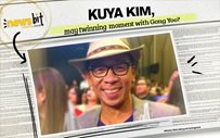 Kuya Kim, may twinning  moment with Gong Yoo?