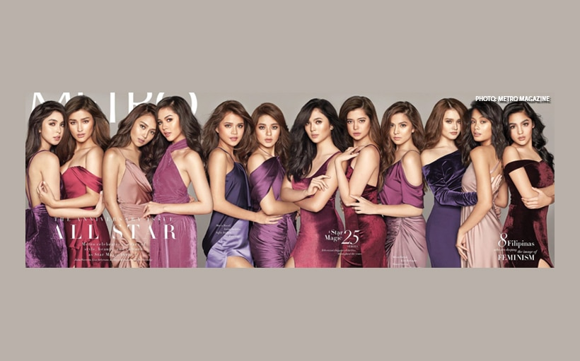 #RealScore: Kathryn, Liza, Julia, Janella + more dazzle on the cover of Metro's May issue