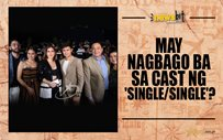 May nagbago ba sa cast ng 'Single/Single'?