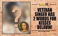 Veteran singer has 2 words for Kisses Delavin!