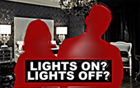 Do these local celebs prefer lights on or lights off?