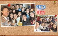 COMPILED: Never-before-seen photos from the set of 'He's Into Her'!