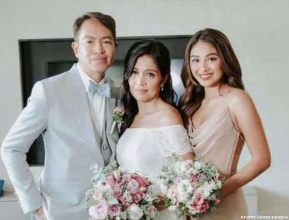 Nadine Lustre with her mom Myrraquel