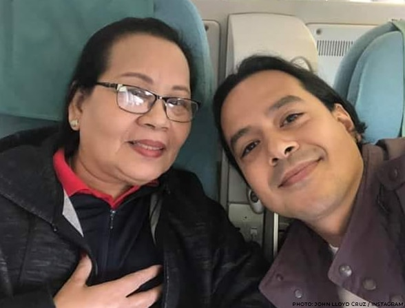 John Lloyd Cruz and his Mommy Aida