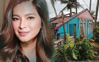 Angel Locsin reaches out to 'Miss Everything' after Typhoon Ambo damaged their home's roof