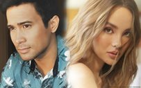 Sam Milby and Catriona Gray, holding hands in new John Prats photo!