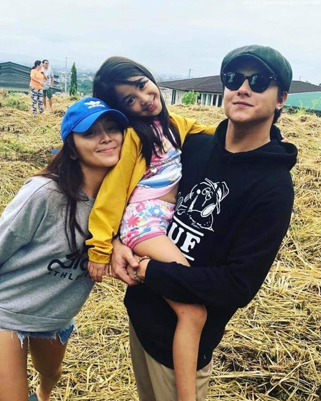 Sweet KathNiel moments with little Lhexine!