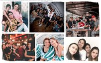 IN PHOTOS: Kathryn and Daniel's amazing friend squads!